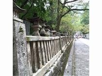 金比羅山本殿への回廊