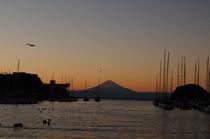 富士山 サンセット