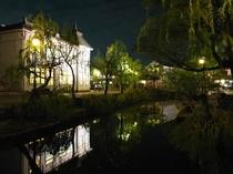 倉敷美観地区夜景