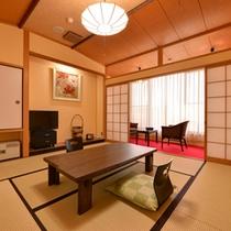 *新館和室8畳(客室一例)/ご家族でのご宿泊に◎波打つ潮騒に耳を傾けながら過ごす休日を満喫下さい。