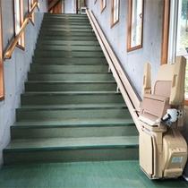 *館内/バリアフリーに配慮された廊下。不安なことがございましたらお気軽にご相談下さい。