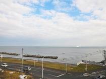【客室からの眺望】宗谷の海を眺めることができます