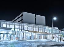 【JR稚内駅:キタカラ】地域交流センターやお食事処が併設されています。