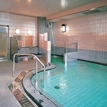【大浴場】トロっとした肌触りの温泉です