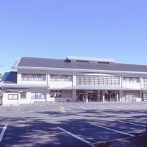 【外観】熊野大社の目の前にある温泉宿です