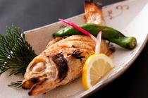 焼き魚ノドグロ