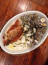魚介料理も美味しい 自然の恵みに感謝!
