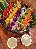 島野菜のバーニャカウダ