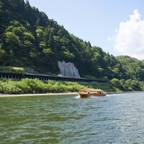 最上川芭蕉ライン舟下り