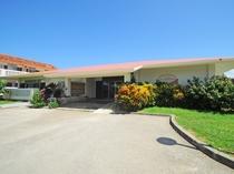 【外観】当館は伊良部島の隣、下地島にあるホテルです。