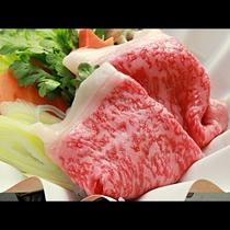 【ご夕食一例・プレミアム会席】山形牛のすき焼き