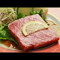 【ご夕食一例・プレミアム会席】山形牛のステーキ