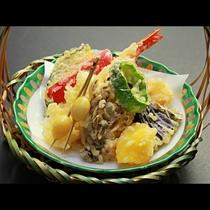 【ご夕食一例・美食会席】季節の天ぷら