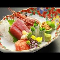 【ご夕食一例・プレミアム会席】旬のお造り