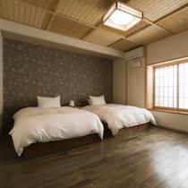 特別室「滝星」寝室