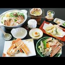 カットステーキ、アワビ、甘海エビ、選べるお好みの品贅沢コース
