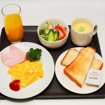 朝食(洋食セット)
