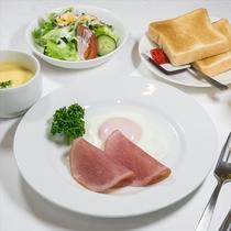 朝食 一例(洋食1)