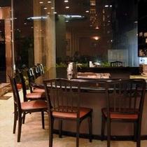 レストラン内喫茶カウンター