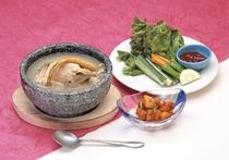 参鶏湯セット