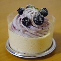 女子会プランには季節のケーキをご用意♪季節によって内容が異なります。