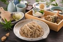 天ぷら蕎麦セット 1500円
