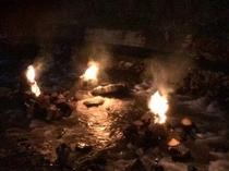 大川原の火流し3