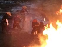 大川原の火流し1
