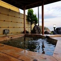 【露天風呂】赤穂御崎の絶景を眺め瀬戸内の潮風を感じながら、日常を忘れる癒しのひとときを。