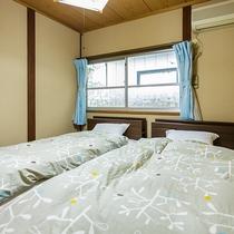 ●福寿荘 ベットルーム