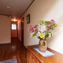 ●福寿荘 玄関踏込