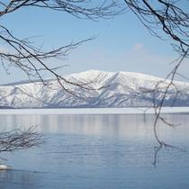 *冬/どこを見ても、まるで絵画の様。綺麗で神秘的な風景に出会えるのが冬の魅力です!