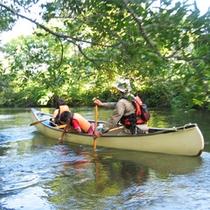 *夏/お子様と一緒にカヌー体験をするなら、夏のシーズンがお勧め!