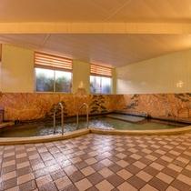 *大浴場/小浜の中でも良質の泉質を誇る湯船。日頃の疲れをごゆっくりお癒し下さい。