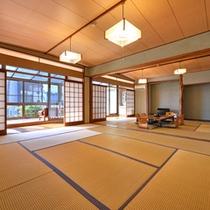 *和室20畳(客室一例)/ゆったり広々としたお部屋で団欒のひと時をお過ごし下さい。