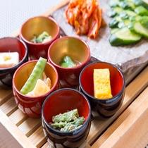 ◆小鉢&漬物