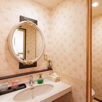 ●広々由布岳眺望ツイン(205号) 洗面所