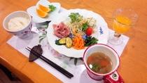 野菜たっぷり健康朝食