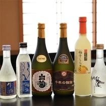 *地酒など/茨城の地酒含め、各種お酒のご用意もございます