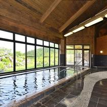 【大浴場】お肌がツルツルになる美肌効果がある温泉