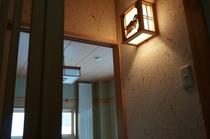 和室の灯篭です。