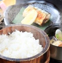 【秋】食事~新米ななつぼしと新秋刀魚塩焼き