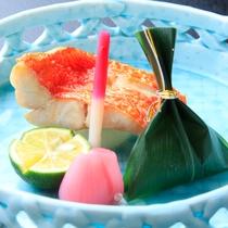 【春】金目鯛の塩焼