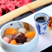 【秋】デザート~伊豆のあんみつ