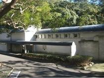 中川一政の美術館。