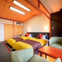 和室ツインベッド(一例)
