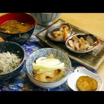 大アサリ定食