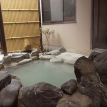 新館特別室(温泉露天風呂)