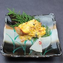 焼き物:赤魚白醤油黄金焼き