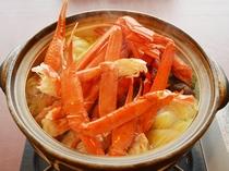 【かにすき鍋】3月末まで!旬の味をお楽しみ下さい